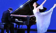 Vásáry Tamás és Tunyogi Henriette a világhírű zongora- és balettművész házaspár estje