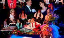 Újévi fergeteges operett gála Oszvald Marikával és az operett csillagaival