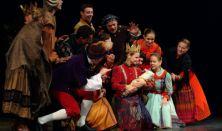 Csipkerózsika felnőtt előadás a Beavató Táncszínházi Program keretében