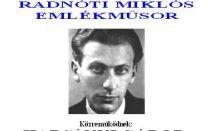 Radnóti Miklós emlékműsor