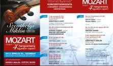 Mozart-ünnep - Szenthelyi Miklós maratoni koncertsorozata