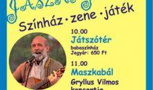 Jászai Játszó: Maszkabál - Gryllus Vilmos koncertje