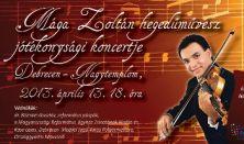Mága Zoltán hegedűművész Jótékonysági Koncertje