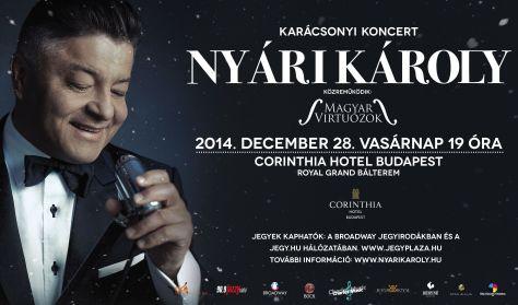 Nyári Károly - Karácsonyi koncert - VACSORAJEGY