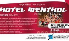 Hotel Mentol - musical - A13 Színház