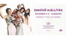 CEWES Őszi Esküvő Kiállítás 2017 / Kétnapos jegy