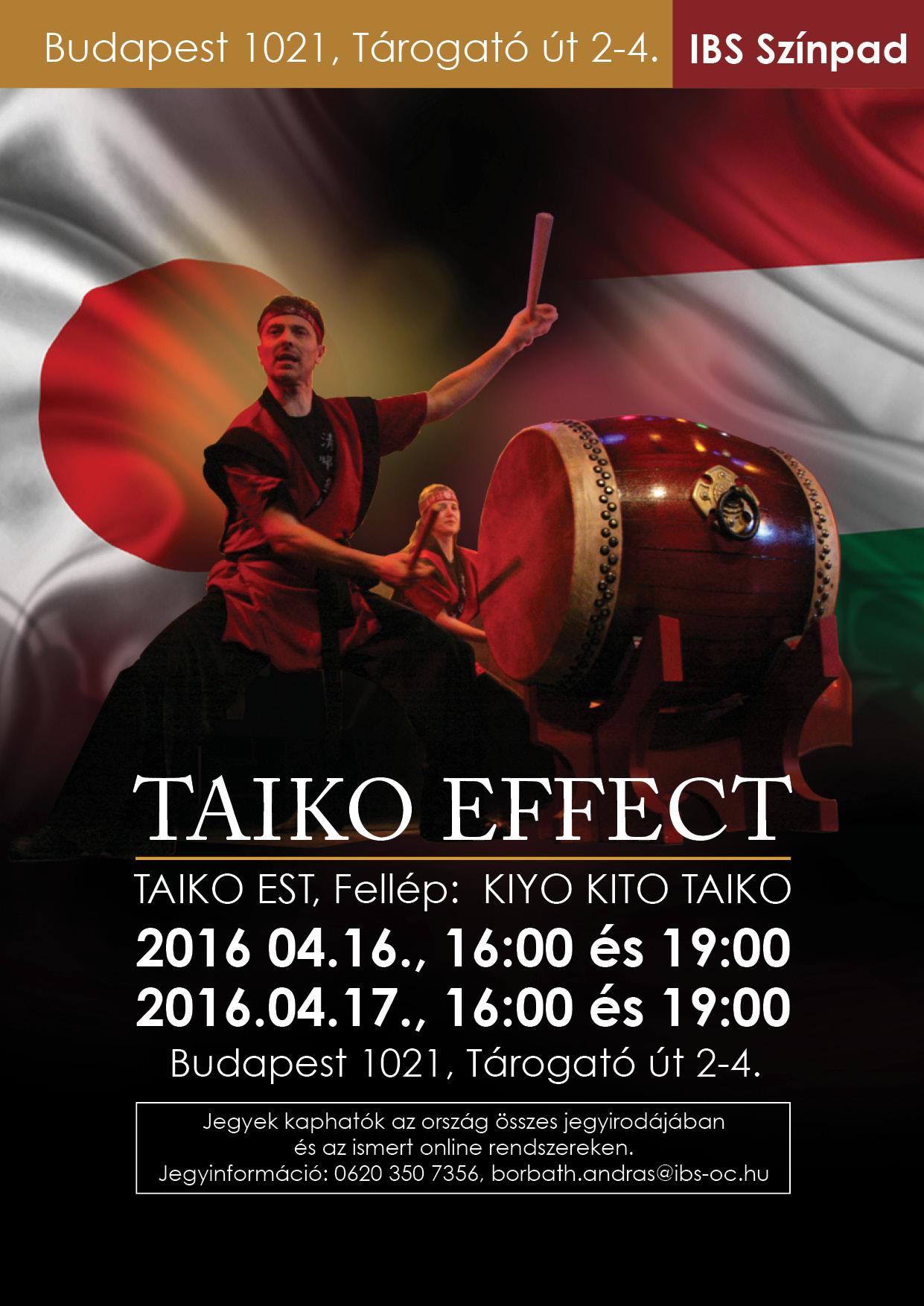 Taiko Effekt-Kiyo Kito Taiko Koncertje
