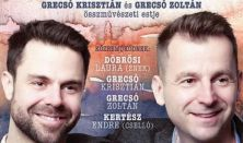 Mellettünk: Grecsó Krisztián és Grecsó Zoltán összművészeti estje