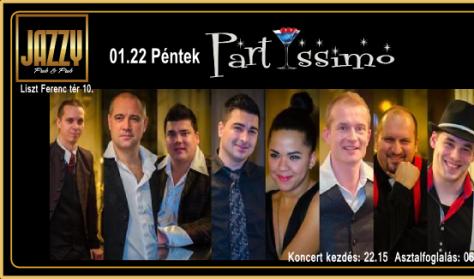 PartYssimo klubkoncert + vendég