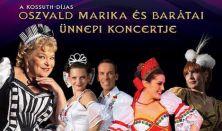 Fergeteges újévi operett gála Oszvald Marikával és barátaival