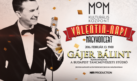 Gájer Bálint Valentin-napi Nagykoncert