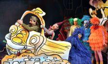 Csukás-Szitha: GOMBÓC ARTÚR, A NAGY UTAZÓ - zenés meseutazás két részben - a Játékszín előadása