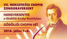 Gálakoncert és Díjkiosztó Ünnepség - VII. NEMZETKÖZI CHOPIN ZONGORAVERSENY