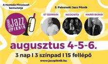 Paloznaki Jazz Piknik <br> 3 napos bérlet - Aug. 4-5-6.