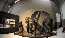 Korda Filmpark Látogatóközpont kiállítás/ szerdától - péntekig