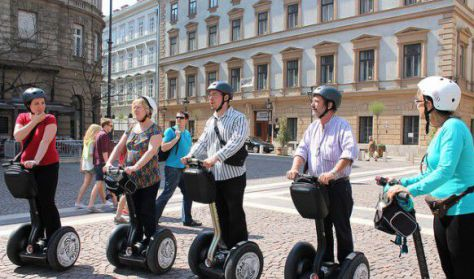 Segway túra/Segway tour - fedezze fel a belváros szépségeit