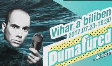 Vihar a biliben - Kovács András Péter önálló estje