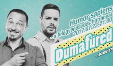 Humor sapiens - a felegyenesedés hátrányai - Kiss Ádám és Benk Dénes közös estje