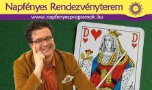 Hölgyvarázs 2.0 Nőnapi bűvész-show Dr. Szabó G. Gábor kártyabűvésszel