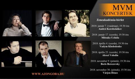 MVM Koncertek – A Zongora – ZAK-bérlet – 2018
