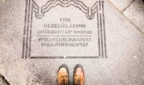 #felafejjelbudapest: A rejtélyes art deco / BTF 2017