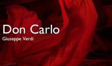 Verdi: Don Carlos - Opera vetítés