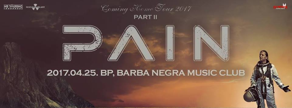 Pain - Coming Home Tour 2017 Part II.