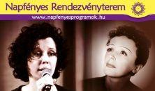 Padam - Kárász Eszter sanzonestje a száz éve született Edith Piaf emlékére