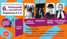 Paloznaki Jazzpiknik / 3 napos bérlet – Aug. 3-4-5.