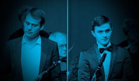 Mikhail Mering és Damien Bachmann - A Kovács Béla Klarinétverseny győztesei