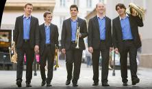 In Medias Brass Quintet és Bazsinka Zsuzsa
