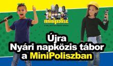 MiniPolisz NYÁRI NAPKÖZIS TÁBOR - augusztus 14-18.