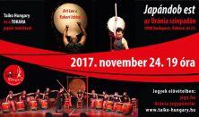 Japándob est - Taiko Hungary és japán vendégművészei