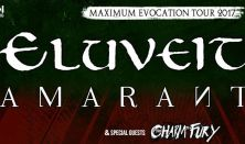 Eluveitie és Amaranthe - Maximum Evocation Tour 2017