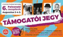 Paloznaki Jazzpiknik / Támogatói jegy