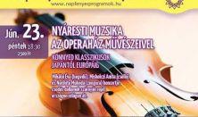Nyáresti muzsika az Operaház művészeivel - Könnyed klasszikusok Japántól Európáig