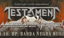 TESTAMENT | ANNIHILATOR | DEATH ANGEL