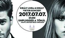 Király Linda és Király Viktor koncertje - Unplugged a tónál