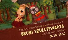 Brumi születésnapja / zenés, interaktív bábműsor
