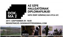 DokMa 2 Filmvetítés