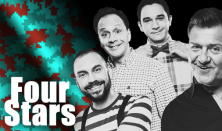 FOUR STARS - Csenki, Felméri, Hadházi, Janklovics, vendég: Lakatos László