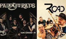 Paddy and the Rats és ROAD közös koncert
