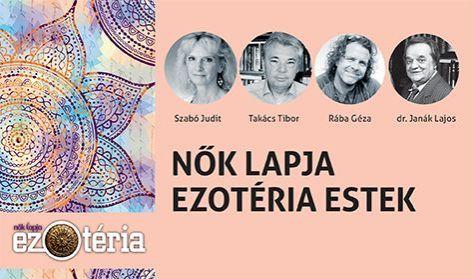 Nők Lapja Ezotéria Est 4 előadásra szóló bérlet