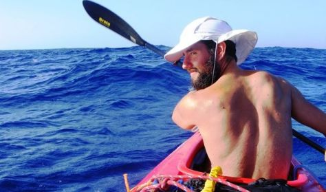 Teljes szívvel - kajakkal az Atlanti-óceánon át