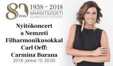CARMINA BURANA - ünnepi koncert a Nemzeti Filharmonikusokkal
