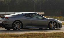 Ferrari F430 F1 490 LE autóvezetés DRX Ring 3 kör+Ajándék Videó