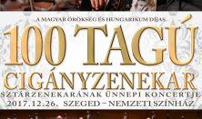 100 Tagú Cigányzenekar Sztárzenekarának Ünnepi Koncertje