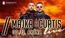 MAJKA & CURTIS LIVE - Aréna koncert