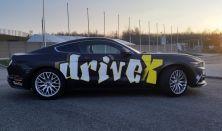 Ford Mustang GT 500 LE autóvezetés DRX Ring 2 kör+Ajándék Videó