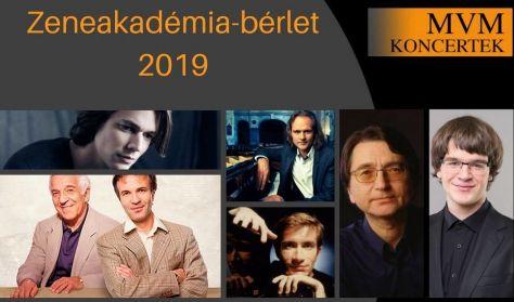 MVM Koncertek – A Zongora – ZAK-bérlet, Bogányi, Fray, Lugansky, Ránki F., Ashkenazy, Koroliov